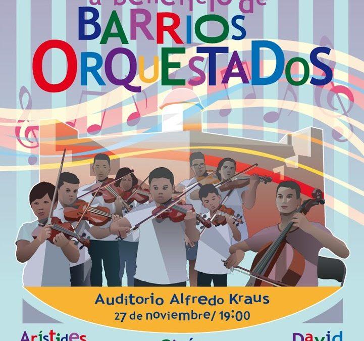 CONCIERTO A BENEFICIO DE BARRIOS ORQUESTADOS 2016 AUDITORIO ALFREDO KRAUS