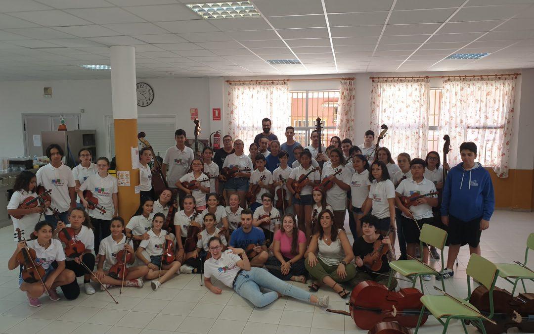 I Convivencia de Artes Integradas Barrios OrquestadosTenerife2019