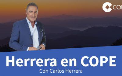 José Brito en el programa de radio 'Herrera en COPE'