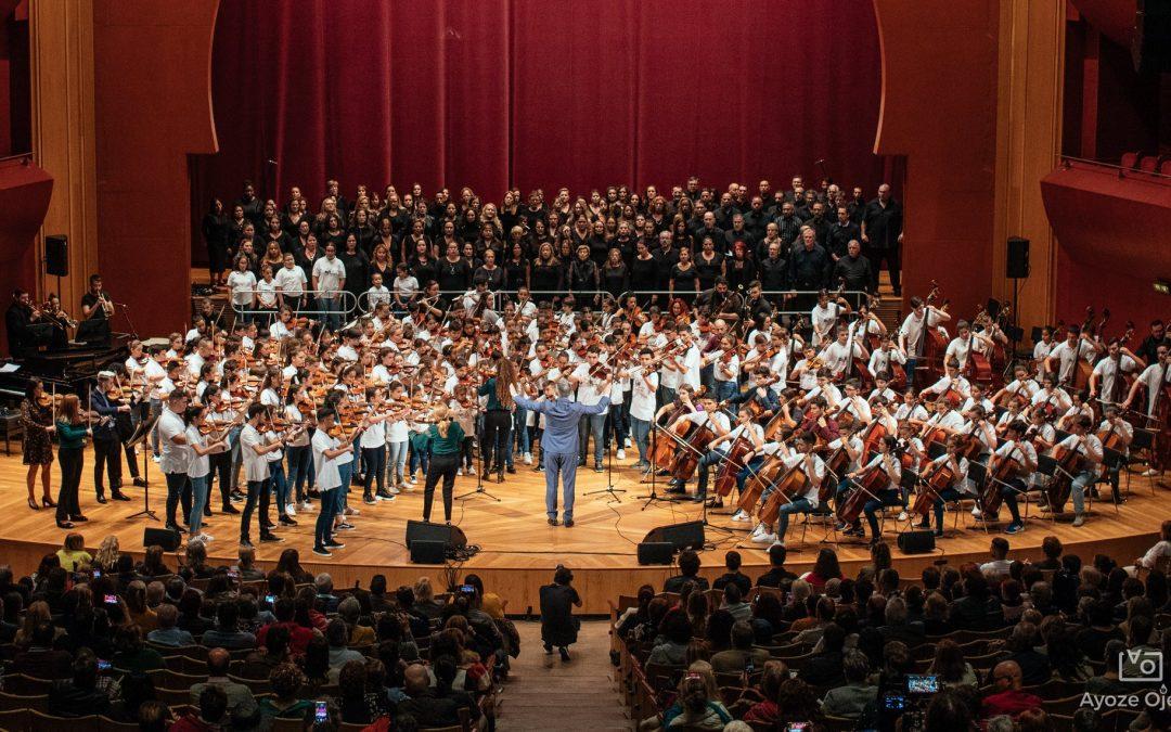 Concierto benéfico de Barrios Orquestados en Gran Canaria